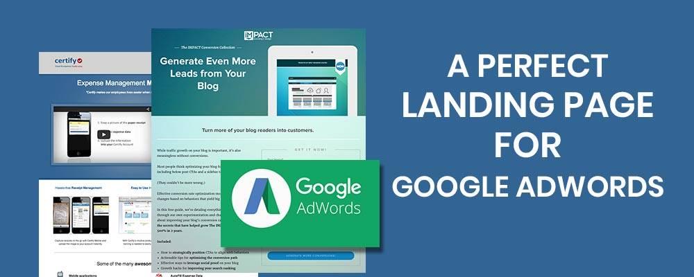 Landing page và AdWords