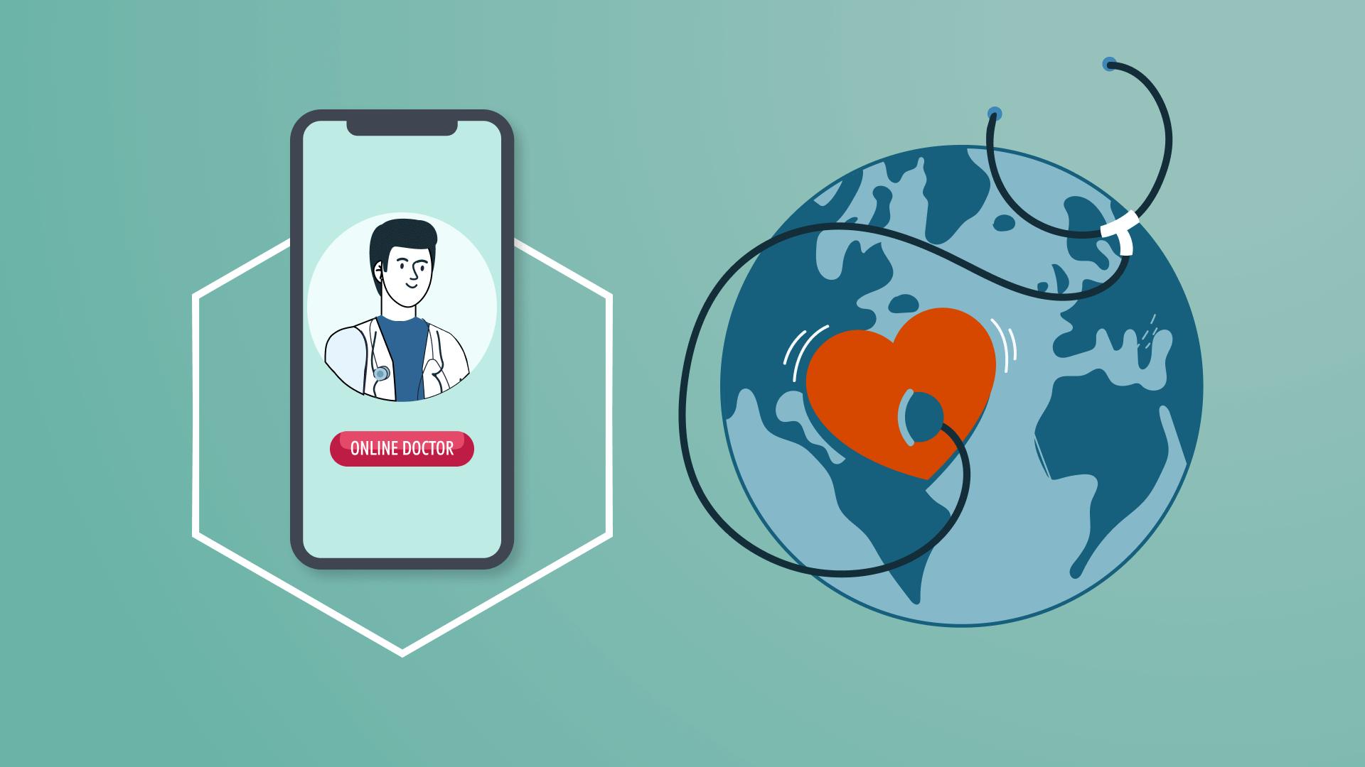 Dịch vụ xây dựng web/app và healthcare marketing cho Telemedicine & Telehealth